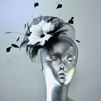Black and White Kentucky Derby Hatinator for Ladies Days SN 1075/1142/1179